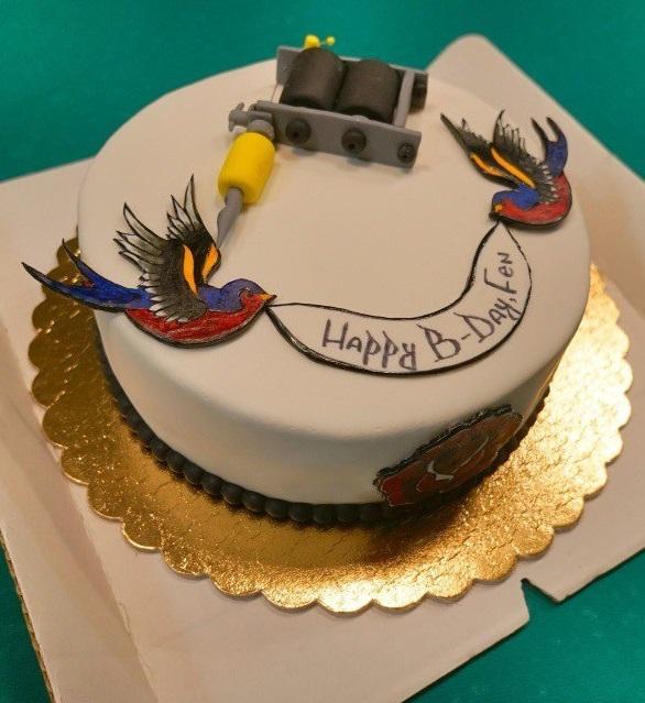 Открытка татуировщику с днем рождения, поздравления