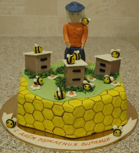 этой торт для пчеловода из мастики фото всей