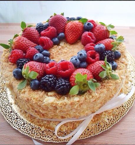Творожная запеканка с фруктами и ягодами   Идеи для блюд